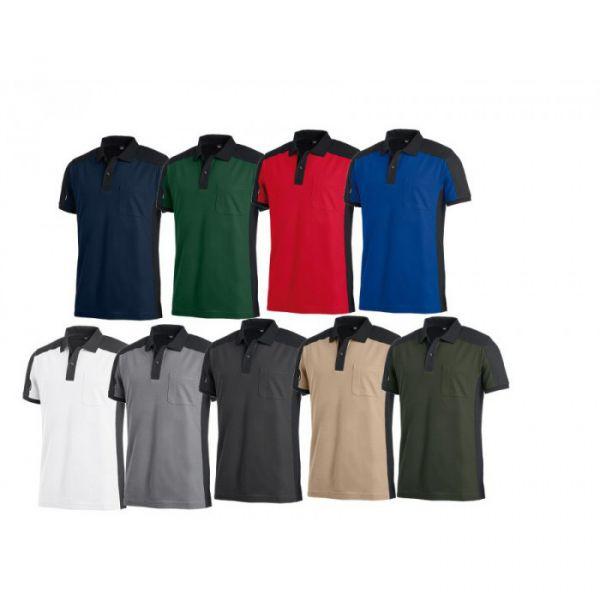 FHB Konrad Polo-Shirt 2-farbig
