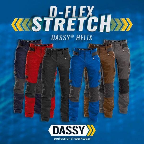 DASSY D-Flex HELIX Bundhose Stretch