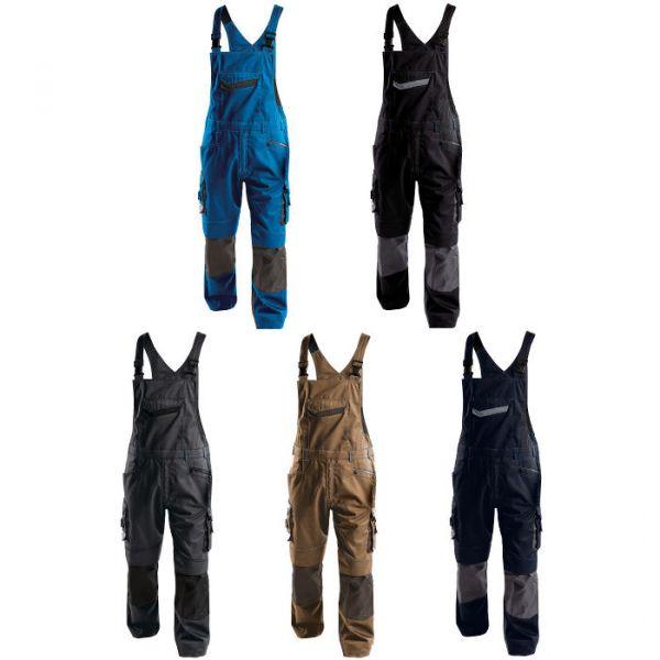 DASSY® Voltic Latzhose zweifarbig mit Kniepolstertaschen