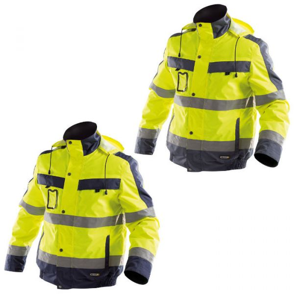 Warnschutzjacke Winter gelb Dassy Lima