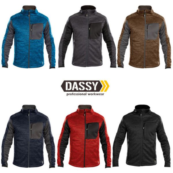 DASSY Convex Midlayer Fleece-Jacke D-Flex