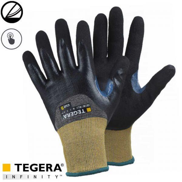 Tegera 8806 Schnittfeste Handschuhe Klasse B