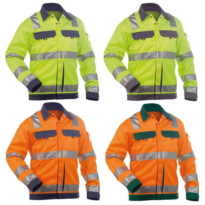 Warnschutzjacke Arbeitsjacke Warnschutzkleidung Arbeitskleidung Warnschutz