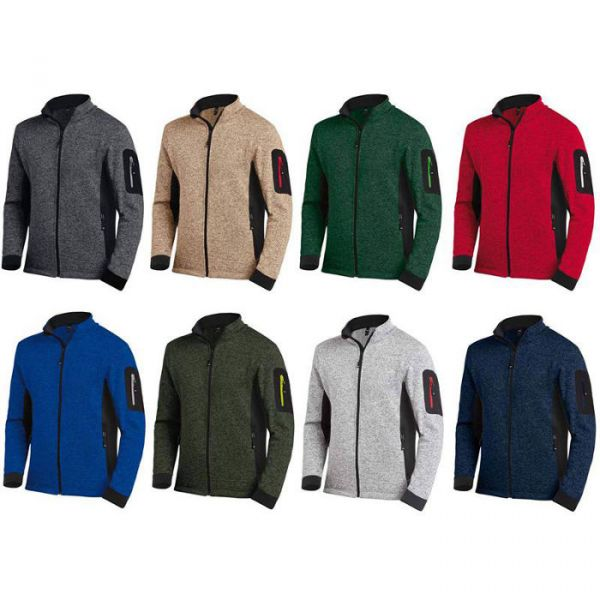 FHB Christoph Strickjacke Fleece Jacke